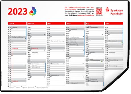 Tischkalender 2020 Sparkasse